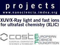 XUV/X-ray light and fast ions for ultrafast chemistry (XLIC)